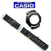 Pulseira + Bezel Casio G-shock G-313MS-1- PEÇAS 100% Originais