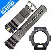 Pulseira + Bezel Casio G-shock G-6900-1 GW-6900-1 Preto fosco