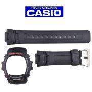 Pulseira +  Bezel Casio G-shock G-7500 G-7510 Preta 100% Original