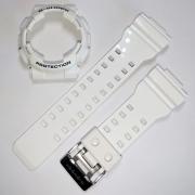 Pulseira + Bezel Casio G-shock GA-110gw-7a Branco Brilhante