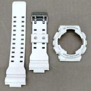 Pulseira + Bezel Casio G-Shock Ga-110RG-7A Branco Fosco