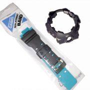 Pulseira + Bezel Casio G-shock GA-700SE-1A2 Cinza e Azul - Peça 100% Original