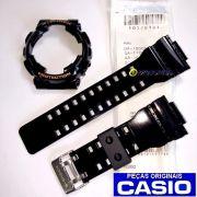 Pulseira + Bezel Casio G-shock GD-100HC-1 Preto Brilhante - 100% Original