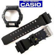 Pulseira + Bezel Casio G-Shock GD-350-1b Resina Preto Fosco