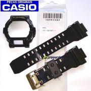 Pulseira + Bezel Casio G-shock GD-350BR-1 Preto Brilhante - 100% Original