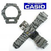 Pulseira + Bezel Casio GD-X6900cm-8 G-shock Camuflado Cinza
