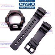Pulseira + Bezel DW-6900G Casio G-Shock  Serie Ouro - Peças 100% Originais