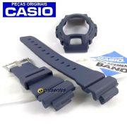 Pulseira + Bezel DW-6900HM-2 Azul Fosco Casio G-Shock