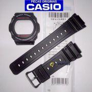 Pulseira  + Bezel G-5700-1 Casio G-Shock  Resina Preta