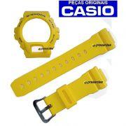 Pulseira + Bezel G-6900A-9 GW-6900A-9 Casio G-shock Amarelo fosco