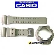 Pulseira + Bezel Ga-100SD-8A Casio G-shock Resina BEGE