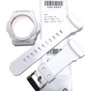 Pulseira + Bezel GA-150-7A Casio G-shock Branco Fosco