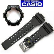 Pulseira + Bezel GA-710-1A Casio G-shock Preto Fosco -100% Original