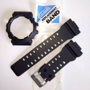 Pulseira + Bezel GAC-100-1a2 Casio G-Shock Preto Fosco