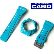 Pulseira+ bezel GD-110-2DR Casio G-Shock Azul Claro - Peças Originais