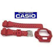 Pulseira + Bezel GDF-100-4 Casio G-Shock Vermelho