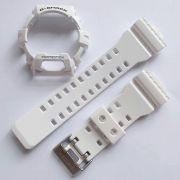 Pulseira + Bezel  GR-8900A-7 GW-8900A-7 Casio G-shock Branco Brilhante