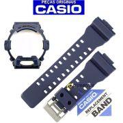 Pulseira + Bezel Gr-8900NV-2 Azul Naval Casio G-Shock