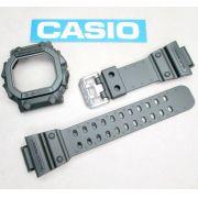 Pulseira + Bezel GX-56kg-3  GWX-56kg-3 Casio G-Shock Verde Militar Fosco