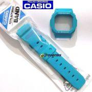 Pulseira + Bezel Originais Casio G-shock GLX-5600a-2 Azul Claro Verniz