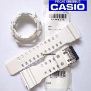 Pulseira + Bezel Original GA-110c-7a Casio G-Shock Branco SemiFosco