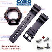 Pulseira + Bezel + Parafusos DW-6900G Casio G-Shock Serie Ouro - Peças 100% Originais