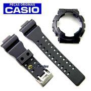 Pulseira + Bezel Preto Fosco Casio G-Shock GA-100-1A1, GA-100C-1A, GA-110MB-1A, GD-101NS-1, GA-120BB-1A, GA-100BBN-1A , GD-120MB-1