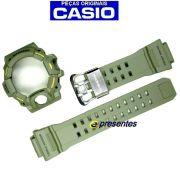 Pulseira + Bezel Verde Casio G-shock Rangeman Gw-9400-3