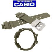 Pulseira + Bezel Verdes GW-a1100 Casio G-shock GravityMaster