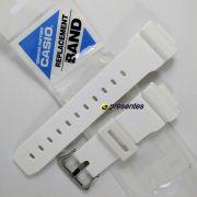 Pulseira Branco Brilhante DW-6900CS-7,  DW-6900PL-7,  G-6900EW-7, GB-5600AB-7, GB-5600AA-7, GB-6900B-7, GB-6900AB-7, GW-6900F-7 Casio G-Shock