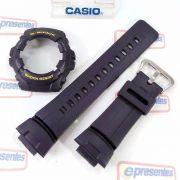 Pulseira + Capa Bezel Casio G-shock G-100-2bv Azul Original