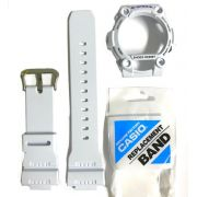Pulseira + Capa Bezel G-7900a-7 Branco Casio G-shock- 100% Original