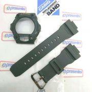 Pulseira + Capa Bezel Verde Casio G-shock G-7900-3v - 100%original