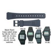 Pulseira Casio 100% Original AQ-45 AQ-46 DB-30 DB-31 DB-53 DB-55 DBA-80 DBP-25 FB-52W W-50U W-73 E W-86