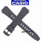 Pulseira Casio 100% Original - W-800h / W-800hg Resina Preta