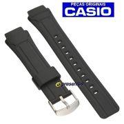 Pulseira Casio AMW-701 Resina Preta - 100% original