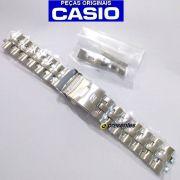 Pulseira Casio Edifice  EF-558D Aço Inox