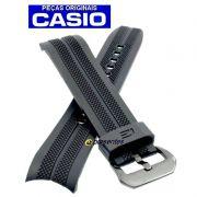 Pulseira Casio Edifice EFR-534 Resina Fivela Preta