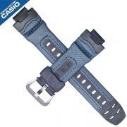 Pulseira Casio G-shock Azul  Resina e Couro G-315RL-2a