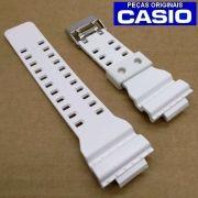 Pulseira Casio G-shock Branco Fosco GA-100B GA-110 GD-100ww GW-8900TR-7 (10395227)