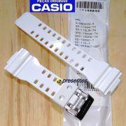 Pulseira Casio G-shock G-8900CS-3 GA-110GW-7A  GA-110LB-7A GAC-100GW-7A GAC-100RG-7A GD-110-7 QW-3400KT-06T  Branca Brilhante
