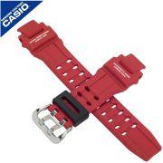 Pulseira Casio G-shock GA-1000-4b Resina Vermelho fosco *