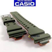 Pulseira Casio G-shock GA-110LN-3a Verde e Laranja
