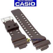 Pulseira Casio G-shock GA-300a-5a Marrom Brilhante - 100% Original