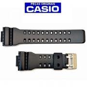 Pulseira Casio G-shock GA-300BA-1 GD-120N-1 Semi Brilhante