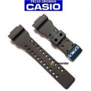 Pulseira Casio G-shock GA-710B-1A2 Preto Fosco Fivela Inox Cor AZUL