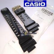 Pulseira Casio G-shock GD-350BR-1 Preto Brilhante - 100% Original