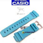 Pulseira Casio G-Shock GLX-5600A-2 G-lide AZUL CLARO BRILHANTE