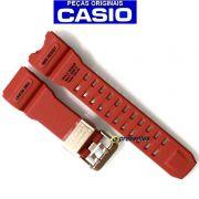 Pulseira Casio G-Shock GWG-1000GB-4A Mudmaster Resina Vermelho *