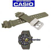 Pulseira Casio G-shock Resina VERDE GW-A1100KH-3A * 100% autentica